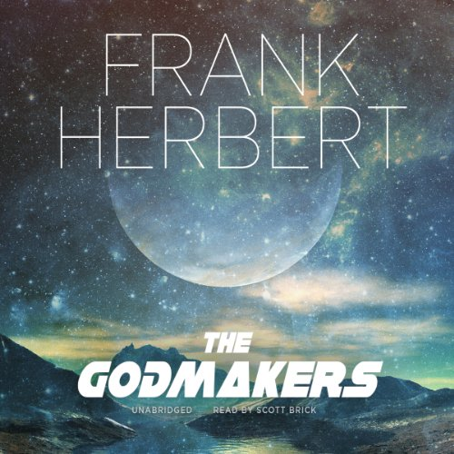 The Godmakers audiobook cover art