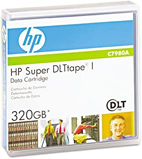 HP - 1/2amp;quot; Super DLT Cartridge, 1828ft, 110GB Native/220GB Comp Capacity - Sold As 1 Each - for Data Center and departmental backups.