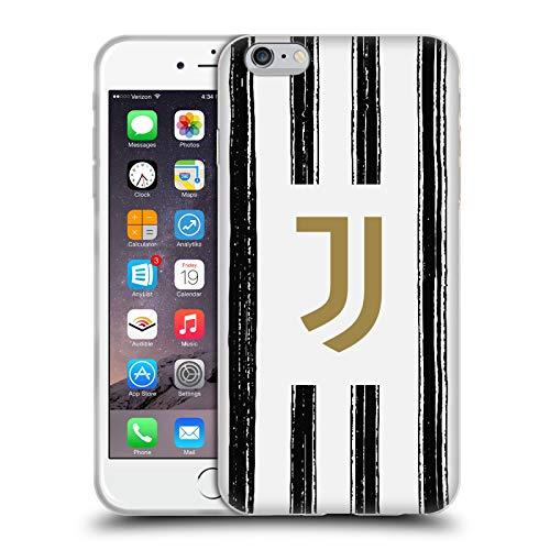 Head Case Designs Licenza Ufficiale Juventus Football Club in Casa 2020/21 Kit Abbinato Cover in Morbido Gel Compatibile con Apple iPhone 6 Plus/iPhone 6s Plus