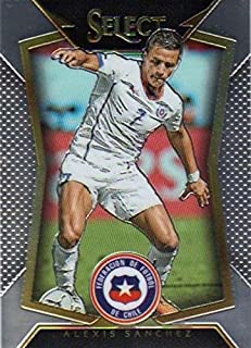 Alexis Sanchez trading card (Forward, Chile Soccer) 2015 Prizm Chrome #2