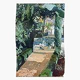Joaqu?n Y Impressionism Landscape Alc?zar Natural Garden Bastida Sorolla Nature Luminism El póster de decoración de interiores más impresionante y elegante disponible en tendencia ahora