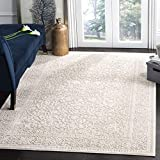 Safavieh Reflection Collection RFT670A Vintage Distressed Area Rug, 8' x 10', Beige / Cream
