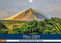 Pico 2351: Hoechster Berg Portugals, Azoren (Wandkalender 2022 DIN A4 quer): Suptropisches Klima, Wale und Vulkane. (Monatskalender, 14 Seiten )