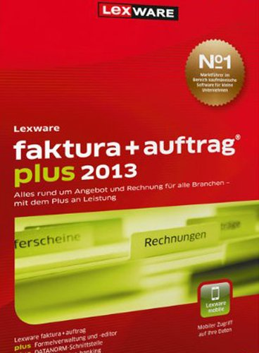 Lexware Faktura+Auftrag Plus 2013 (Version 17.00) [Download]