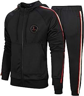 Aotorr Survêtement Homme Ensemble Sweat-Shirt à Capuche et Pantalon de Sport Jogging
