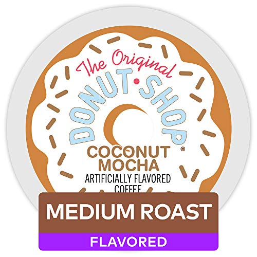 The Original Donut Shop Coconut Mocha Keurig Single-Serve K-Cup Pods, Medium Roast Coffee, 72 Count
