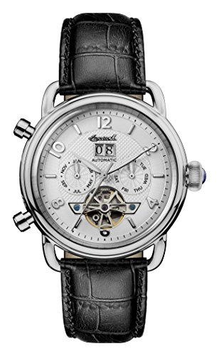 Ingersoll Mens Analogue Classic Automatic Watch with Leather Strap I00903
