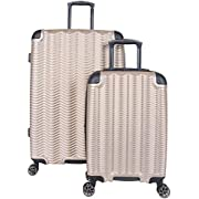 Kenneth Cole Reaction Wave Rush Lightweight Hardside 8-Wheel Spinner Expandable Luggage