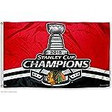 WinCraft Chicago Blackhawks NHL Stanley Cup Flag