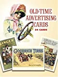 Old-Time Advertising Cards: 24 Full-Color Cards (Dover Postcards)