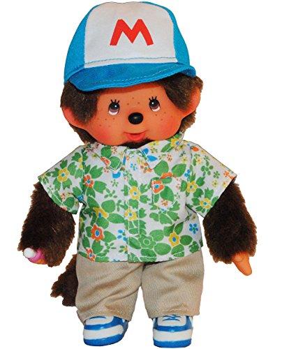 alles-meine.de GmbH Junge mit Baseball Bekleidung Kleid Monchhichi Monchichi Sport Sommer Hemd