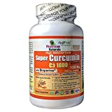Physician Naturals Super Curcumin 1000 with Bioperine 1000mg - 100 Caplets