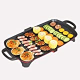 Electric Grill Portable Electric Grill Indoor Barbecue with Large Easy Cleanup Cooking Surface