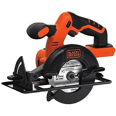 BLACK+DECKER BDCCS20B 20-volt Max Circular Saw Bare Tool, 5-1/2-Inch