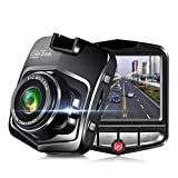 Camera de Voiture 1080p Mini Dash Camera Voiture Grand Angle de Vision Nocturne...