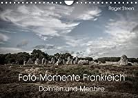 Foto-Momente Frankreich - Dolmen und Menhire (Wandkalender 2022 DIN A4 quer): Die Megalithen der Bretagne (Monatskalender, 14 Seiten )