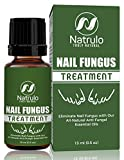 Nail & Toenail Fungus Treatment -Natural Anti Fungal Nail Balm with Tea Tree Oil - 100% Pure Liquid HomeopathicInfection Fighter Remedy - Destroys Fungus & Restores Clear Healthy Nail, Made in USA