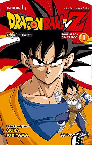 Dragon Ball Z Anime Series Saiyanos nº 01/05 (Manga Shonen)