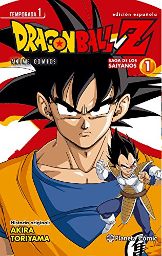 Dragon Ball Z Anime Series Saiyanos nº 01/05 (Manga Shonen)