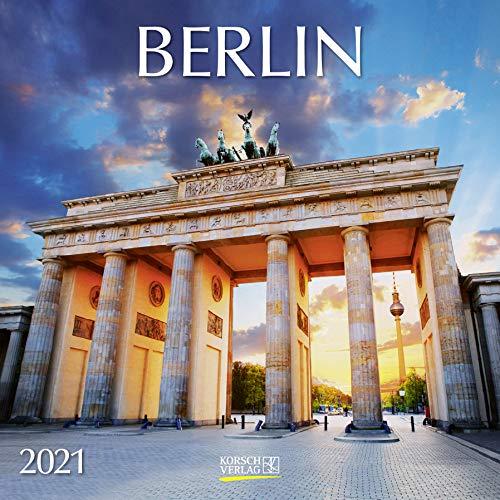 Berlin 2021: Broschürenkalender mit Ferienterminen