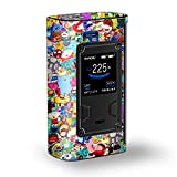 Skin Decal Vinyl Wrap for Smok Majesty 225W TC Kit Vape Kit skins stickers cover/ Sticker collage,sticker pack