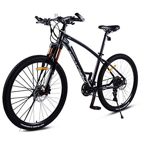 AI CHEN Fahrrad Mountainbike Aluminiumlegierung Doppelhydraulische Scheibenbremse Geschwindigkeit Rennrad Student Erwachsene Männer und Frauen 17,5 Zoll 30 Geschwindigkeit