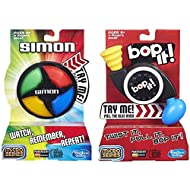Simon Micro Series Game + Bop It Micro Series Game – Bundle of 2 Games