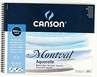 Canson Drawing book Watercolor, 12 Papers, 32 * 41 cm