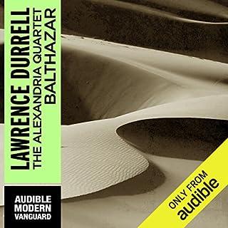 Balthazar audiobook cover art