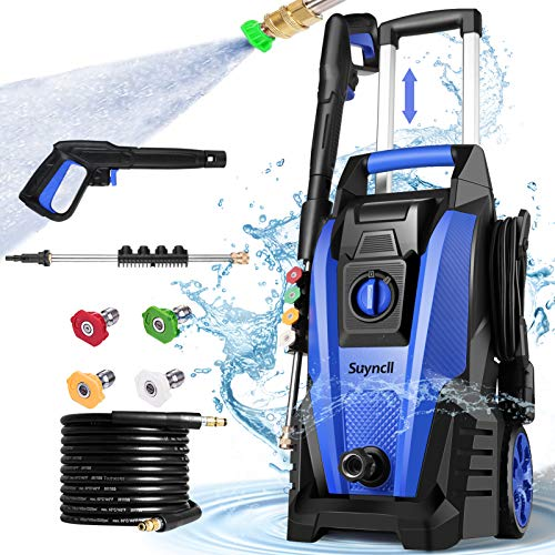 Suyncll Pressure Washer, 3800PSI Electric Power Washer, 2000W High Pressure Washer, Professional...