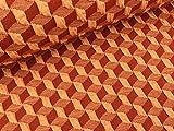 Albstoffe Hamburger Liebe 3D-Relief Jacquard Plain Stitches