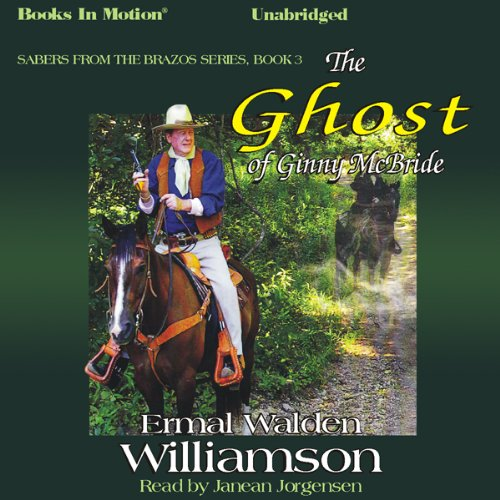 The Ghost of Ginny McBride audiobook cover art