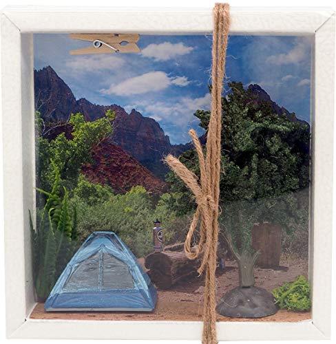 Geldgeschenk Verpackung Camping Zelten Berge Gutschein Urlaub Reise Geschenk Geburtstag