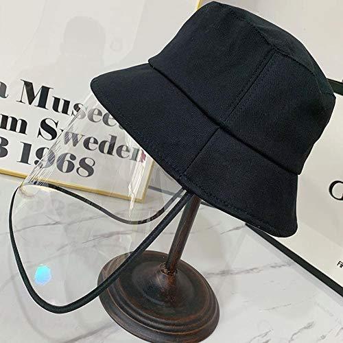 Heren en vrouwen anti-schuim visser hoed opvouwbare afneembare zon bescherming outdoor stof-proof zon hoed Afneembare beschermhoes.