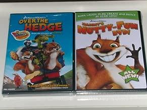 Over the Hedge Movie DVD & Hammy's Nutty Fun DVD- BONUS 2 PACK!!