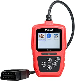 VIDENT iEasy300 OBD2 Scanner Enhanced Car Code Reader Automotive Engine Light System Diagnostic Tool with Battery Tester Universal Vehicle CAN Scan Tools(New Version)