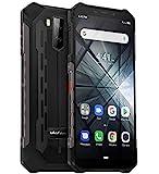 "teléfono moviles Resistentes(2019), Ulefone Armor X3 con Modo Submarino, Android 9.0 5.5 ""IP68 Impermeable móvil Trabajo, Dual SIM, 2GB + 32GB, 5000mAh Batería, Desbloqueo Facial GPS Negro"