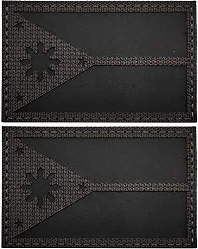 Philippinen-Flagge Patch, taktischer Militär, Moral, IR reflektierende Weste Patches Abzeichen mit Klettverschluss Rückseite für Kleidung, Rucksack, Armband, Hüte, Jeans, Jacken, Mantel - 8,9 x 5,9 cm