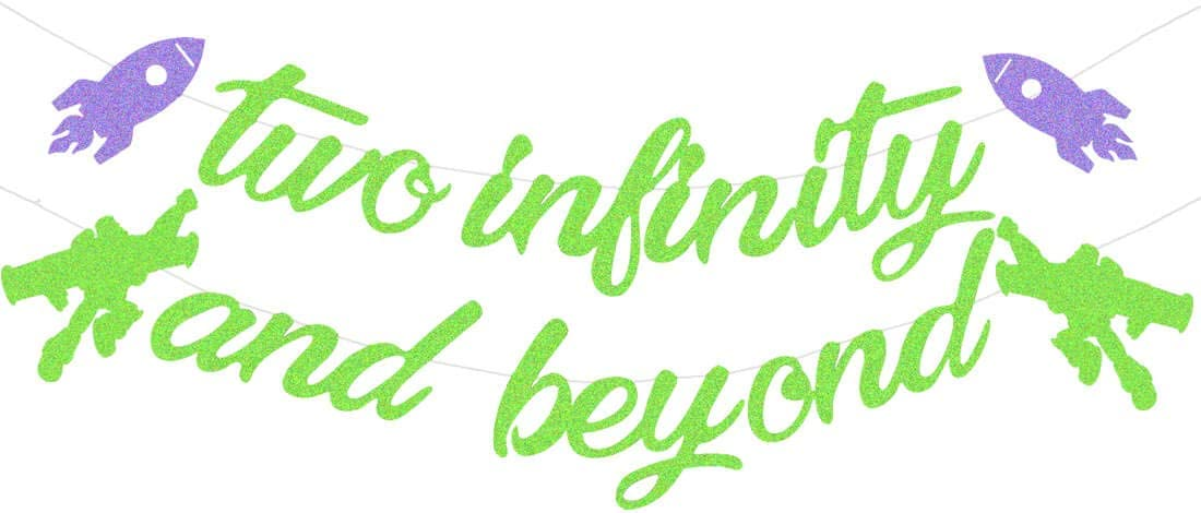 HEETON Two Infinity and Beyond Buzz Banner Inspir Light Toy overseas Year Excellence