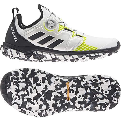 adidas Terrex Agravic Boa W, Zapatillas de Trail Running Mujer, FTWBLA/NEGBÁS/Amasol, 38 2/3 EU