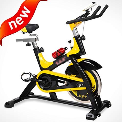 DXIUMZHP Indoorcycling Bikes Fahrradtrainer Christopeit Ergometer Fahrrad Heimtrainer Trimmrader Ultra-leises Haushaltsfahrrad Neues Spinnrad Heimtrainer Sportgeräte