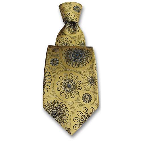 Robert Charles - Cravate Astoria Jaune Or
