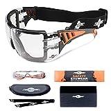 Gafas de Protección ToolFreak Con Transparente Lentes y Relleno de Espuma de ...