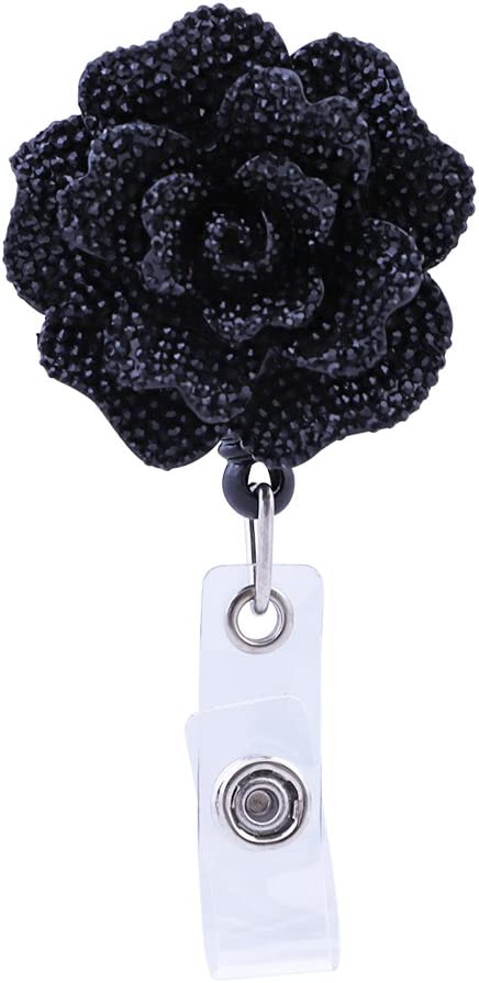 Soleebee 28'' Retractable Badge Reel Bling Mesa Mall Nurse Rose Cheap sale ID