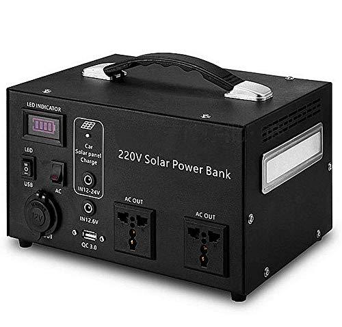 ADDG 220V Mobile Stromversorgung Batterie modifizierte Welle Große Kapazität Die Notstromversorgung kann von Solarenergie aufgeladen Werden