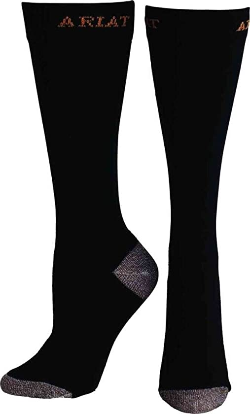 Ariat Women's Slim Line Sport Socks,Black,One Size