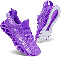 UMYOGO Sport Running Shoes for Women Mesh Breathable Trail Runners Fashion Sneakers Lake Blue