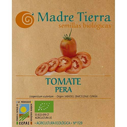 Madre Tierra - Semillas de Tomate Pera ( Licopersicum Sculentum) Origen Barcelona - España - Aprox. 1 Gr