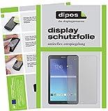 dipos I 2X Schutzfolie matt kompatibel mit Samsung Galaxy Tab E 9.6 Folie Bildschirmschutzfolie