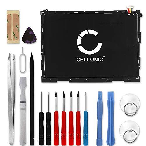 CELLONIC® Premium Akku inkl. Werkzeug-Set kompatibel mit Samsung Galaxy Tab A 9.7 (SM-T550 / SM-T555) (6000mAh) EB-BT550ABA Ersatzakku Batterie Tabletakku